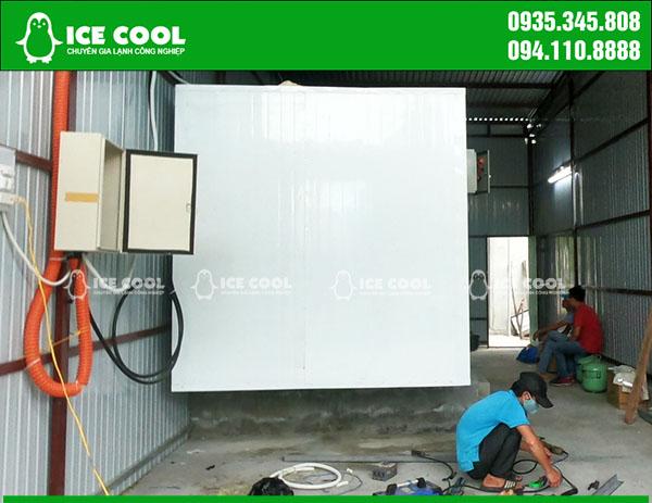 Lắp đặt kho lạnh máy đá