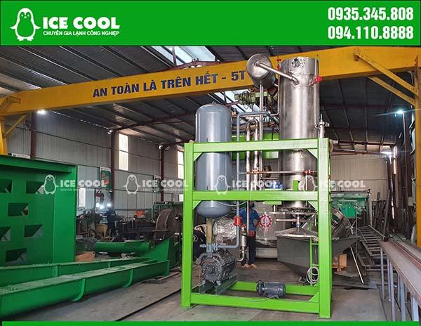 Lắp đặt máy làm đá viên 5 tấn tại Nghệ An