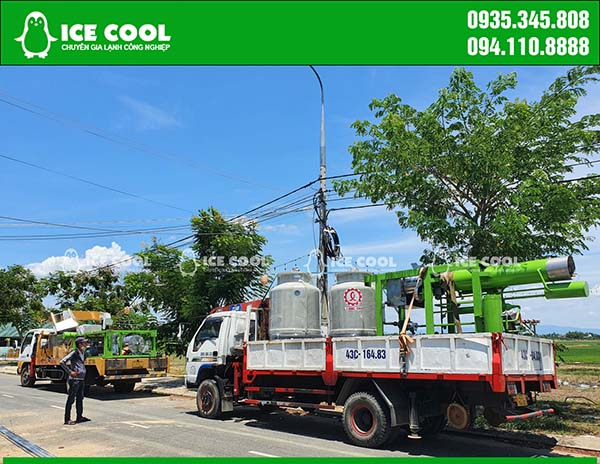 Lắp đặt máy đá viên tại Quảng Nam